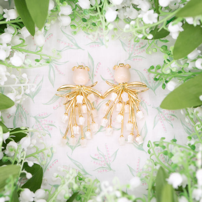 Lily of the Valley Earring