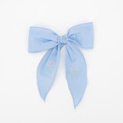 Riley Bow - Light Blue