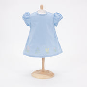 Riley Doll Dress - Light Blue