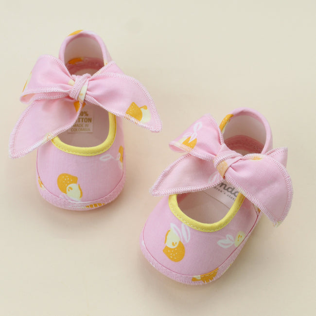 Lemon Baby Shoes