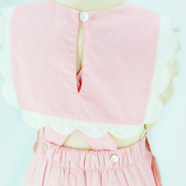 Pink Nautical Romper