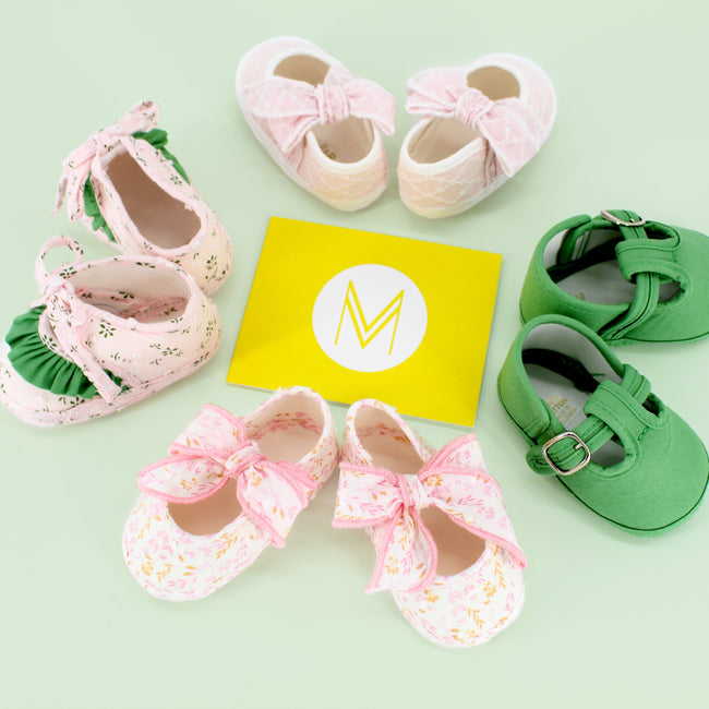 New Baby Gift: $50 Kookie Cash + Dondolo Fabric Baby Shoes