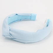 Pearce Blue Knot Headband