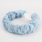 Pearce Blue Ruched Headband