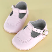 Classic + Stitch Baby Shoe Light Pink