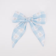 Daisy Love Bow - Blue