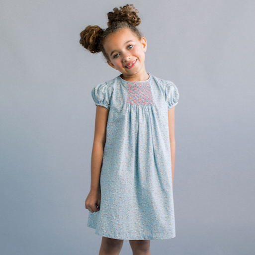 Georgie Dress (Blue)