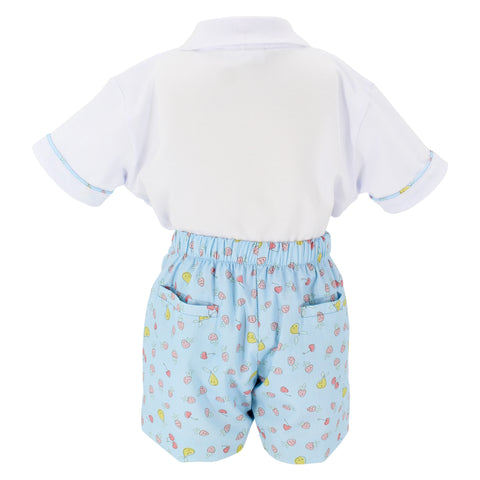 Summertime Boy Polo Set