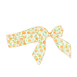 Adult Bow Mask - Orange Pumpkin