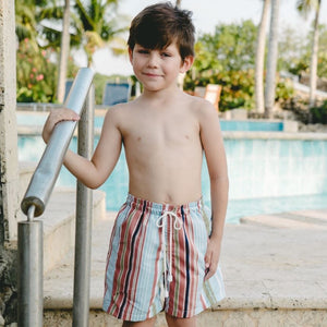 Thomas Swim Trunks Stripes