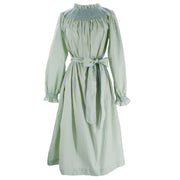 Women's Margaux Dress - Light Green Gingham/Light Blue