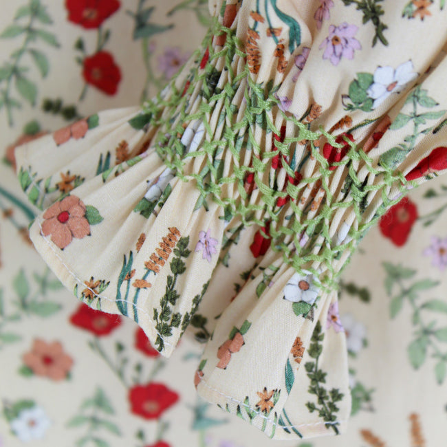 Women's Margaret Shirt - Florence Floral/Light Green