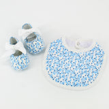 Blue Blonnet Baby Shoes