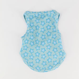 Blue Starfish Dog Swimshirt