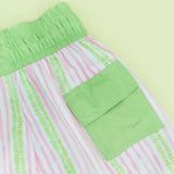 Green/Pink Stripe Boy Swimsuit