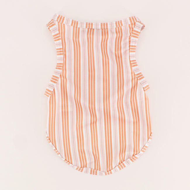 Swan Stripe Dog Swim Shirt