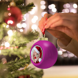 Christmas Gift Custom Ornaments Light Up Ornament With Your Photo