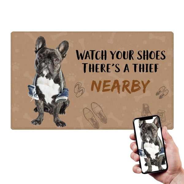 Custom Funny Pet Doormat Humor Pet Door Mat With Your Pet's Photo