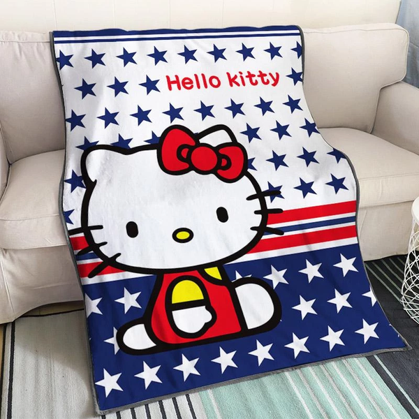 Cute Anime Blanket Hello Kitty