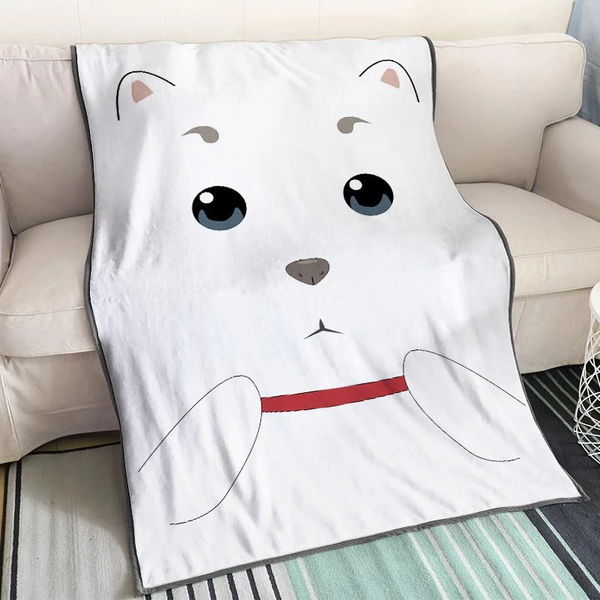 Cute Anime Blanket Gin Tama