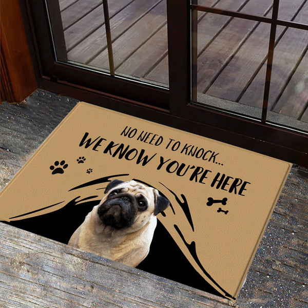 US Fast Delivery - Custom Photo Doormat With Your Text
