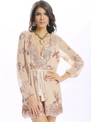 Jumpsuits & Rompers Women Sexy Sequins Bandage Autumn Daily Casual Party Spring Backless Jumpsui