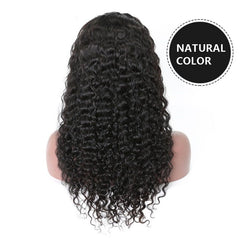 Brazilian curly hair wig lace front wig