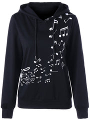 Two Tone Music Note Hoodie