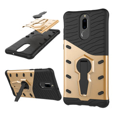 Case for Huawei Mate 10 Lite / Maimang 6 Shockproof with Stand 360 Rotation Back Cover Contrast Colo