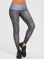 Active Brocade Print Performance Leggings