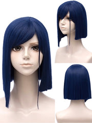 Short Side Bang Straight Anime DARLING in the FRANXX 015 Cosplay Wig