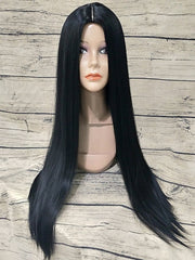 Synthetic Middle Part Long Straight Wig
