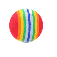Rainbow Ball Is A Light and Light Pet Toy