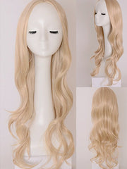 Middle Part Long Wavy Party Cosplay Wig