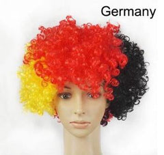 2018 football World Cup Country football fan wig football fun wig