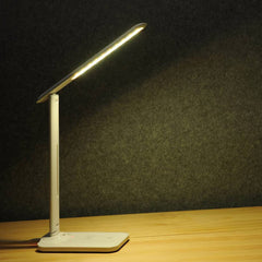 BY - D10 5W Smart Touch LED Study Desk Lamp with Wireless Charger Function for Home Use
