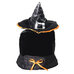 Halloween Cat Supplies Decoration Wizard Hat Bib Festive Dress