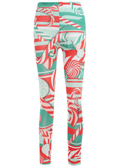 Lollies Print Slim Fit Leggings
