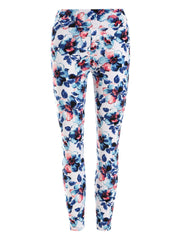 Skinny Floral Pattern Leggings