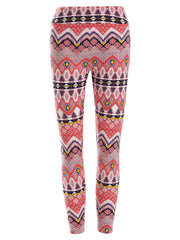 High Waisted Patterned Leggings
