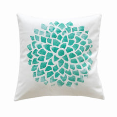 PC044 Green Plant Bedroom Pillow Case