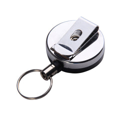 Portable Outdoor Anti Lose/Theft Telescopic Key Buckle