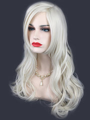 Long Side Bang Wavy Lolita Synthetic Wig