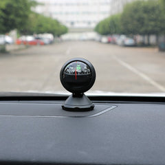 Adjustable Angle Automobile Compass Car Accessory