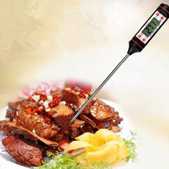 TP101 Home Cooking BBQ Food Thermometer with Stainless Steel Probe