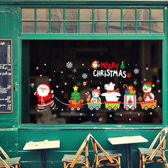 Merry Christmas PVC Window Wall Sticker