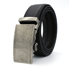 Automatic Double Faced Cowhide Business Man Belt