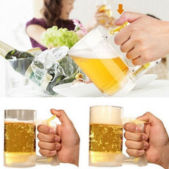 Creative Bubble Foaming Beer Mug for Bar Atmosphere Party