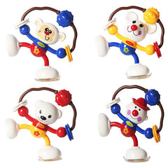 Rattling Sucker Animal Twisting Toy for Newborn Baby 1pc