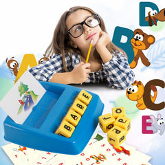 Funny Matching Letter Educational Puzzle Toy for Party Daily Learning